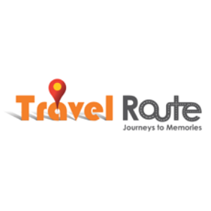 travel route logo